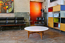 HERMAN MILLER GEORGE NELSON VINTAGE RARE COFFEE TABLE AUTHENTIC WITH FOIL LABEL