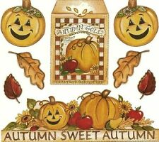 AUTUMN SWEET AUTUMN Scrapbook Stickers