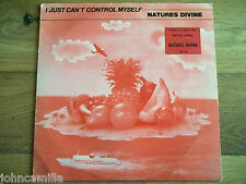 """NATURES DIVINE - I JUST CAN'T CONTROL MYSELF 12"""" RECORD/VINYL - INFINITY RECORDS"""