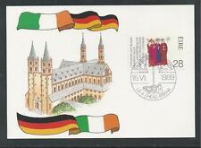 IRELAND # 748 MARTYRDOM OF THE FRANCONIAN APOSTLES #8 1989 Postal Card