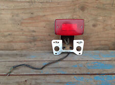 1980 Honda CX500 Custom Taillight and License Plate Assembly