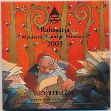 Finland 2003 : Kerstset/Coffret de Noël.