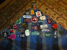 Vintage AUTO & MISC Rubber Keychain Advertisement Collector Lot Of 28 Unique !