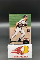 Jim Thome 1992 Topps Stadium Club Rookie Card #360 Cleveland Indians HOF RC