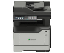 Lexmark Network Ready Print Copy Scan Fax Duplex 40 PPM 1 GHz Dual-core