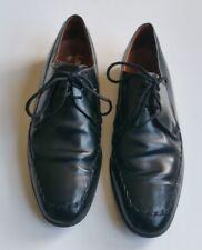 Loake Black Leather Derby Lace Up Shoes UK 7.5, EU 41.5