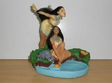 Disney Princess Pocahontas pvc plastic figurine - Soap Dish + Figure Grosvenor
