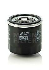 Filtro olio MANN FILTER W67/1