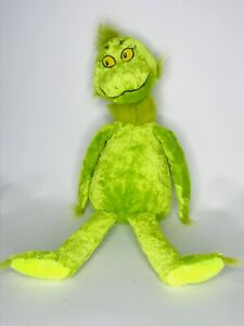 Kohls Cares Dr. Seuss Grinch Stole the Christmas Plush Stuffed Toys Green 16in