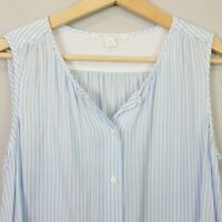 [ TRENERY ] Womens Striped Button up Blouse Top  |  Size XS or AU 8 / US 4