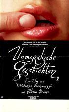 Unmoralische Geschichten ORIGINAL Kinoplakat DIN A3 Paloma Picasso / W Borowczyk