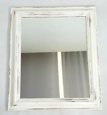 Country Pine Frame Wall-mounted Decorative Mirrors