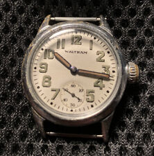 "1942 MEN'S MILITARY ISSUE WALTHAM ORDNANCE DEPARTMENT WRISTWATCH! ""ORD DEPT""!"