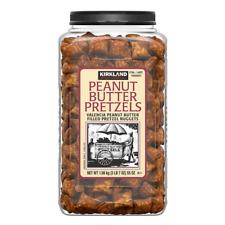 Kirkland Signature burro di arachidi riempito Pretzel Nuggets 1.56kg TRANS-FAT FREE