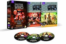 DR WHO 071 083 U.N.I.T FILES - DINOSAURS + ANDROID Doctor Pertwee + Baker - DVD