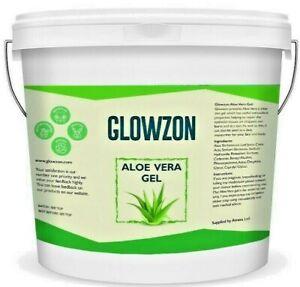 1KG, 500G 99% Pure Aloe Vera Gel For Face & Hair Moisturizer - By Glowzon