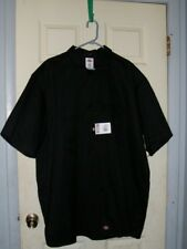 Dickies 3XL Black Button Up Shirt with Short Sleeves Brand New with Tags