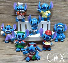 8Pcs Lilo Stitch Figures Toy Kids Pvc Ornaments Toys Doll