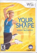 WII - Nintendo Wii Game - YOUR SHAPE FEATURING JENNY McCARTHY Exercise BRAND NEW