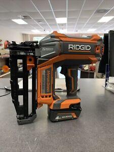 """RIDGID R09892 18V 16 Gauge HyperDrive Brushless Straight Finish Nailer 2-1/2"""""""