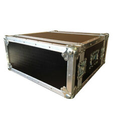4U 500mm Deep Rack Flight Case with Foam Suspended Sleeve | Ultrasonics Cases