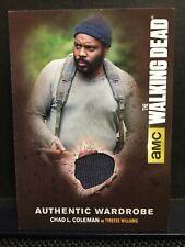 The Walking Dead Season 4 Part 1 Authentic Wardrobe Tyreese Williams Card M 07