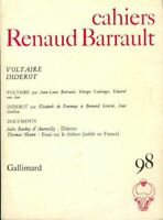 Cahiers Renaud Barrault n°98 : Voltaire, Diderot - Collectif - 2270016