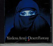"YARDENA ARAZI ""DESERT FANTASY"" ירדנה ארזי ISRAEL ATRASH MANOR ARAZI CD '89 JAPAN"