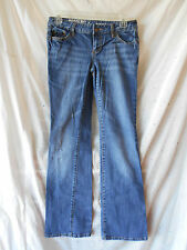 Mossimo Supply Co. Jeans Size 5-S Junior Boot Cut Low Inseam 30 Cotton Blend