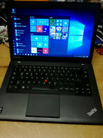 "Lenovo ThinkPad T440 14"" Intel i5-4300U 4GB RAM 320GB LAN WLAN WebCam Win10 #03"