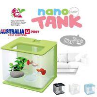 Fish Tank Aquarium Small Breeding Acrylic Box Clear Desktop Home Decoration