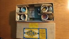 ASTRA PHAROS VERY RARE EARLY 1936 FLOOD LIGHT SET IN VERY GOOD CONDITIION