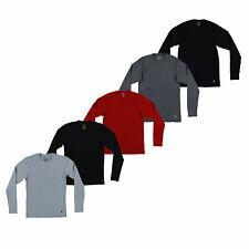 Polo Ralph Lauren Mens T-Shirt Long Sleeve Stretch Sleep Shirt Crew Neck New Nwt