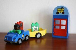 Lego Duplo Train Set Post office /part of 3325-1/ Intelli Train