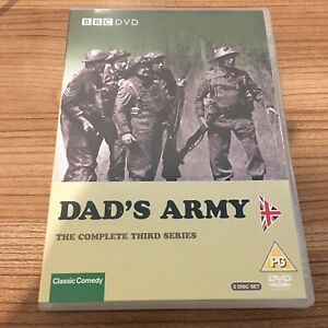 Dad's Army The Complete Series 3 DVD (2005, 2-Disc Set) Arthur Lowe Region 2 UK