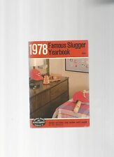 Original   1978   Louisville Slugger Famous Slugger Yearbook