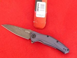 Kershaw USA new in box 7777DAM assisted Damascus Bareknuckle knife