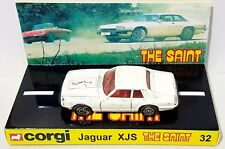 CORGI Juniors 32 THE SAINT Jaguar XJ-S Diecast Model Car & Custom Display [c]