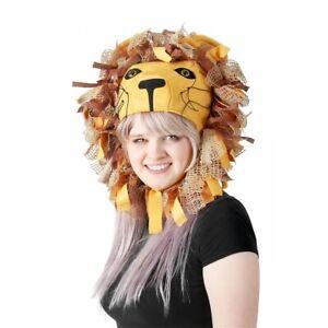 Luna Lovegood Lion Head Hat Adult Kids Halloween Costume Fancy Dress
