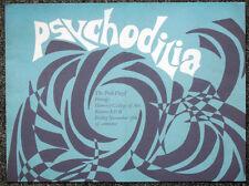 PINK FLOYD REPRO 1966 HORNSEY COLLEGE CONCERT POSTER . SYD BARRETT . NOT CD DVD