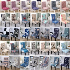 4pcs Universal Stretch Spandex Chair Cover Wedding Banquet Chair Slipcovers