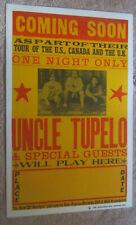 original UNCLE TUPELO Album release show thick ANODYNE Poster  WILCO  VINTAGE