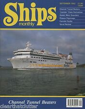 ALBATROSS Dutch Sailing Ketch - QUEEN MARY Quandary SHIPS MONTHLY September 1992