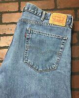 Levi's 505 Regular Fit Men's Blue Jeans Size 42 x 30
