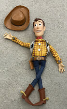 Disney Pixar Woody Doll With Hat - Toy Story - Pull String Broken