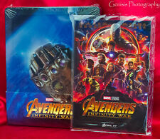 Avengers: Infinity War 3D SteelBook Blu-ray Import Region Free + Art Cards
