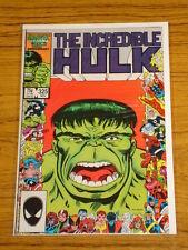 INCREDIBLE HULK #325 VOL1 MARVEL COMICS NOVEMBER 1986