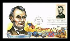 DR JIM STAMPS US PRESIDENT ABRAHAM LINCOLN GILL CRAFT UNSEALED FDC COVER