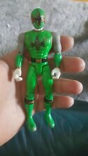 "Power Rangers Ninja Storm NINJA FLASH GREEN SAMURAI RANGER 5.5"" Bandai 2002"