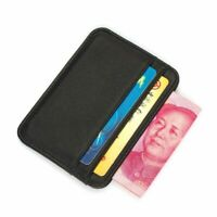 Genuine Leather Mini Wallets Ultra-thin Card Holder Mens Business Small Case